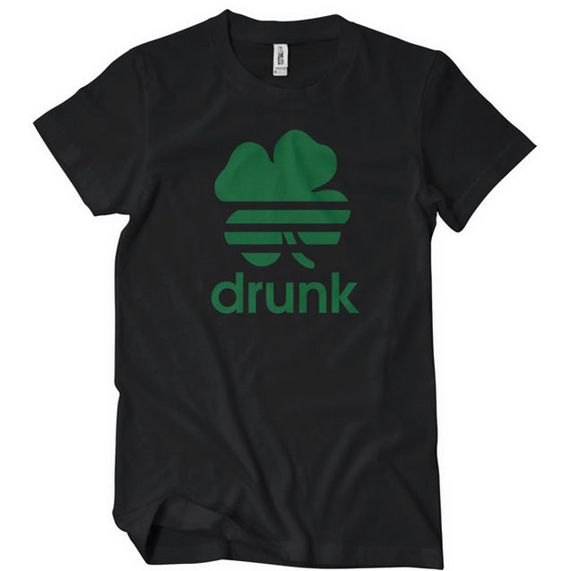 St Patricks Day Drunk T-Shirt Mens T-Shirt - Textual Tees