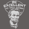 Be Excellent To Each Other T-Shirt Mens T-Shirt - Textual Tees