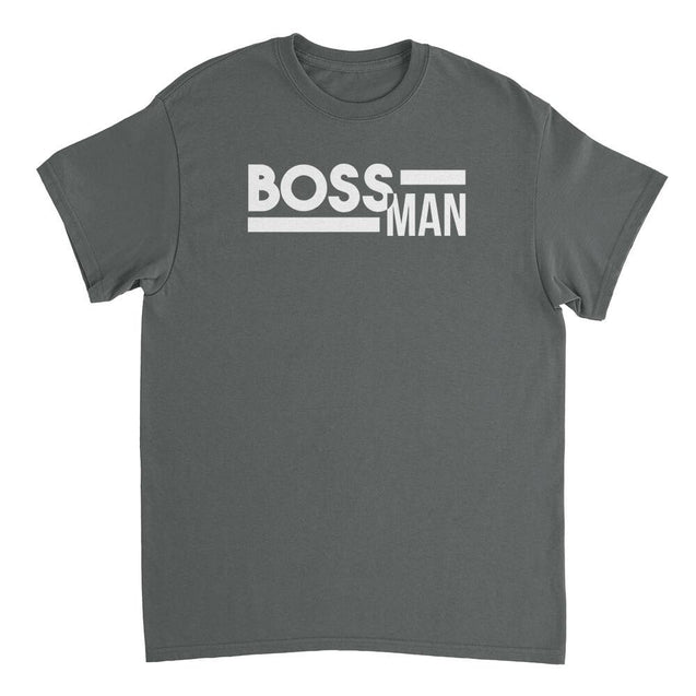 Boss Man Mens T-Shirt Mens T-Shirt - Textual Tees