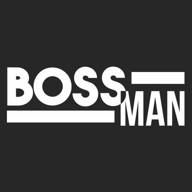 Boss Man Kids T-Shirt Kids T-Shirt - Textual Tees