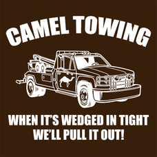 Camel Towing Wrecking Service T-Shirts - Textual Tees