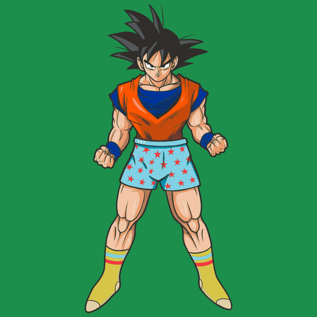 Casual Goku Pocket T-Shirt T-Shirts - Textual Tees