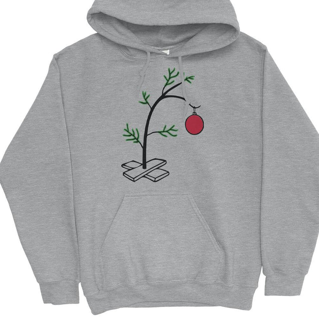 Charlie Brown Christmas Tree Hoodie Hoodie - Textual Tees