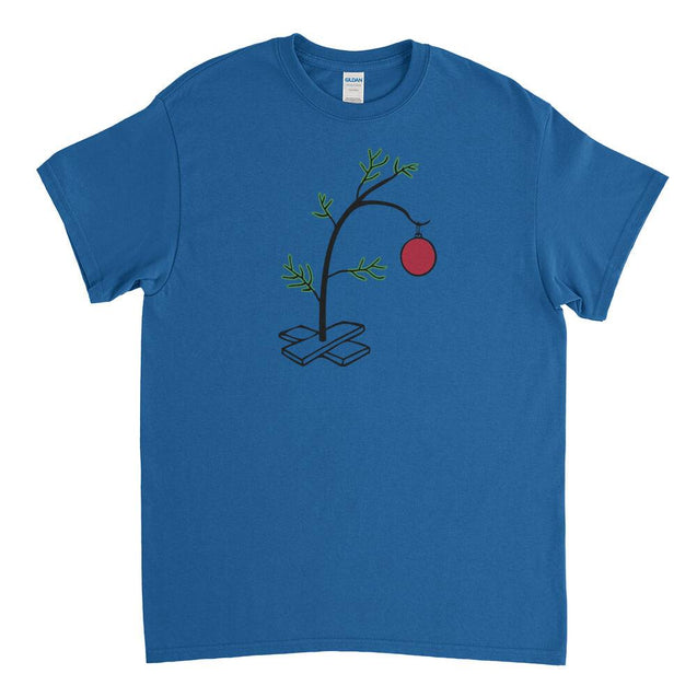 Charlie Brown Christmas Tree Mens T-Shirt - Textual Tees