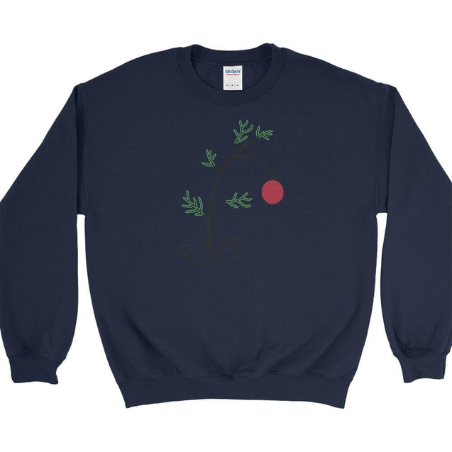 Charlie Brown Christmas Tree Sweatshirt Sweatshirt - Textual Tees