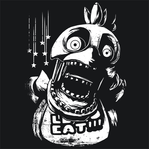 Chica Five Nights At Freddy's 3 FNAF T-Shirt