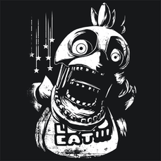 Chica Five Nights At Freddy's 3 FNAF T-Shirts - Textual Tees