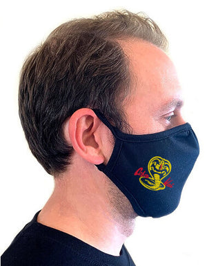 Cobra Kai Face Mask - Textual Tees