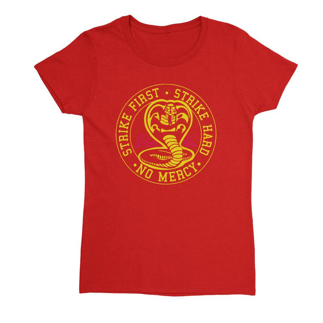 Cobra Kai Womens T-Shirt - Textual Tees