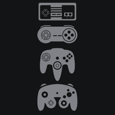 Controller Generations T-Shirts - Textual Tees