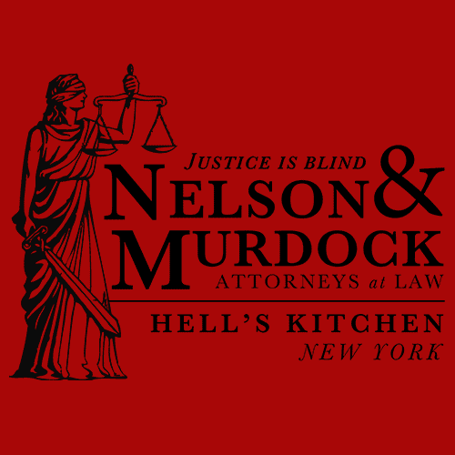 Daredevil Attorneys at Law T-Shirt Mens T-Shirt - Textual Tees