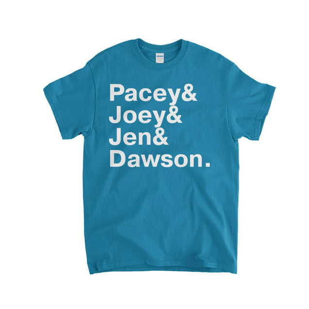 Dawsons Creek Names kids T-Shirt - Textual Tees