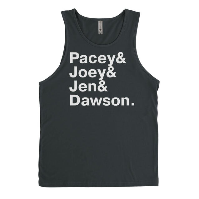 Dawsons Creek Names Mens Tanktop Mens Tanktop - Textual Tees