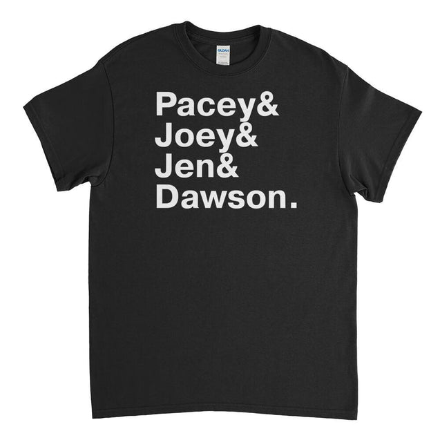 Dawsons Creek Names Mens T-Shirt Mens T-Shirt - Textual Tees