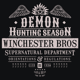 Demon Hunting Season T-Shirts - Textual Tees