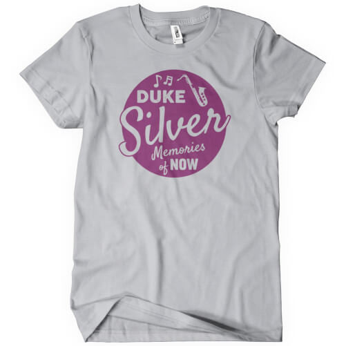 Duke Silver Memories of Now T-Shirt T-Shirts - Textual Tees