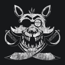 Foxy Five Nights At Freddy's FNAF 3 T-Shirts - Textual Tees