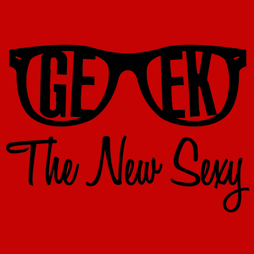 Geek the New Sexy T-Shirt Mens T-Shirt - Textual Tees