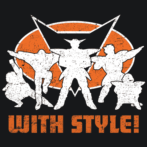 Ginyu Force With Style T-Shirt Mens T-Shirt - Textual Tees