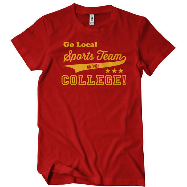 f2032954e ... Go Local Sports Team And Or College T-Shirts - Textual Tees ...