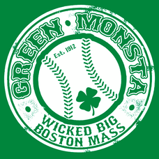 Green Monsta Wicked Big Boston Mass T-Shirts - Textual Tees