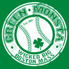 Green Monsta Wicked Big Boston Mass T-Shirt Mens T-Shirt - Textual Tees
