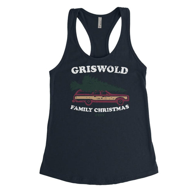 Griswold Family Christmas Womens Tanktop Womens Tanktop - Textual Tees