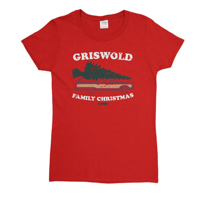 Griswold Family Christmas Womens T-Shirt Womens T-Shirt - Textual Tees