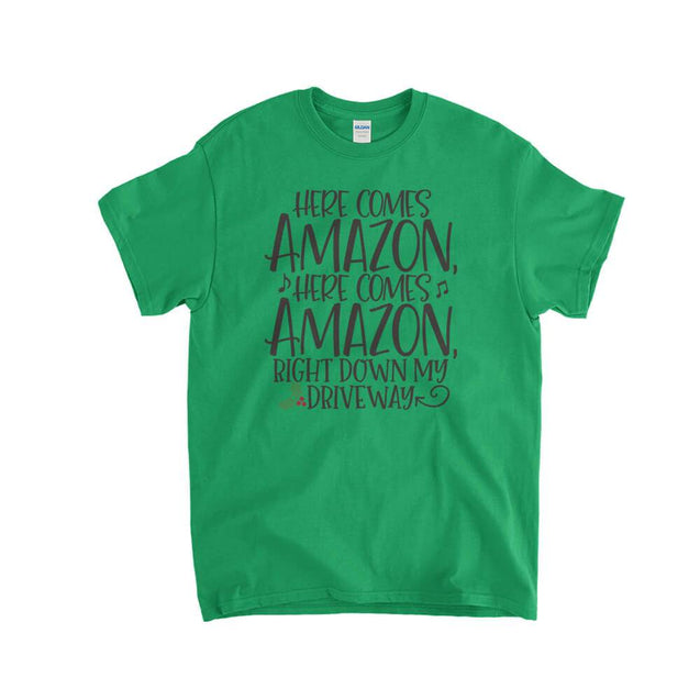 Here Comes Amazon Kids T-Shirt - Textual Tees