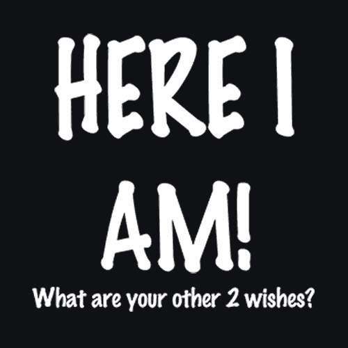 Here I am What Are Your Other 2 Wishes