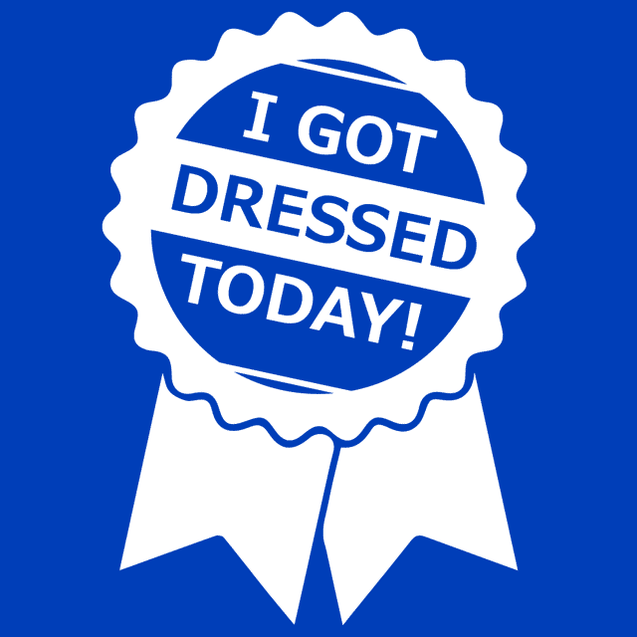 I Got Dressed Today T-Shirt Mens T-Shirt - Textual Tees
