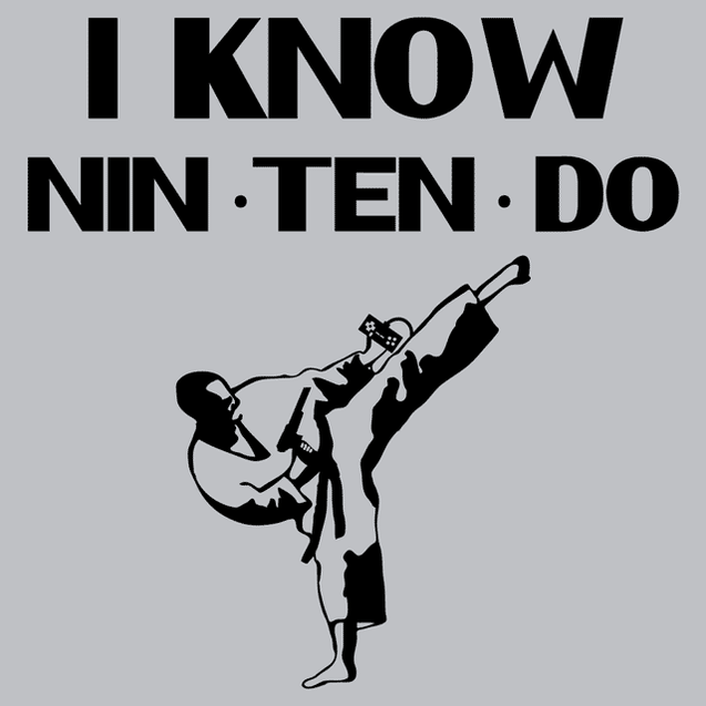 I Know Nin Ten Do T-Shirt Mens T-Shirt - Textual Tees