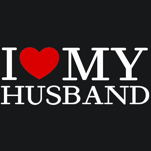 I Love My Husband T Shirt Anniversary Textual Tees