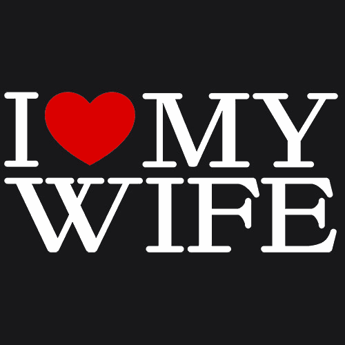 I Love My Wife T Shirt Anniversary Gift Textual Tees