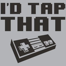 Id Tap That NES T-Shirt