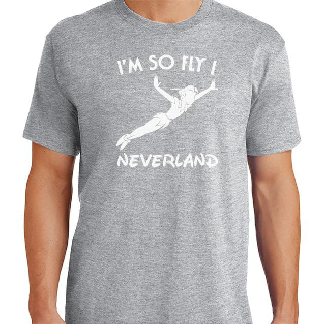 Im So Fly I Neverland T-Shirt - Textual Tees
