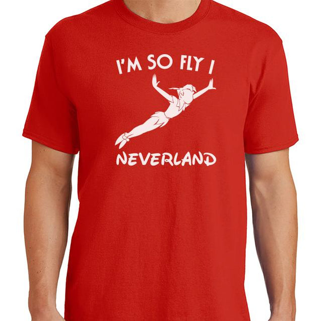 Im So Fly I Neverland T-Shirt Mens T-Shirt - Textual Tees