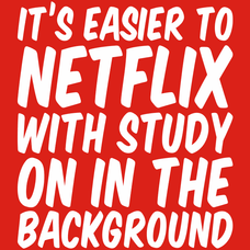 Its Easier To Netflix T-Shirt