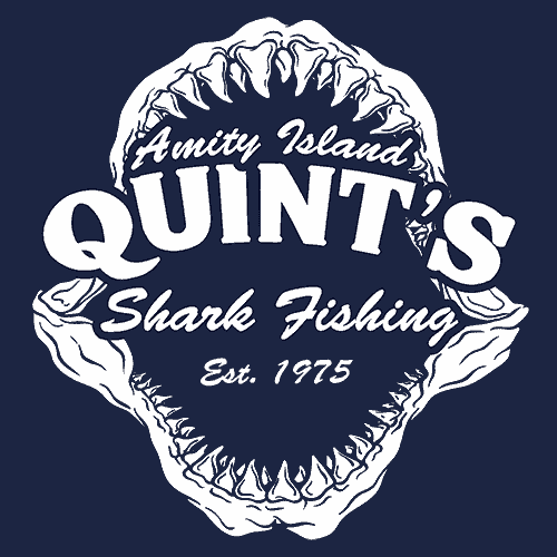 Quint's Shark Fishing T-Shirt Jaws