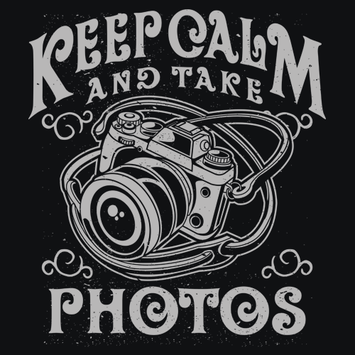 Keep Calm and Take Photos T-Shirts - Textual Tees