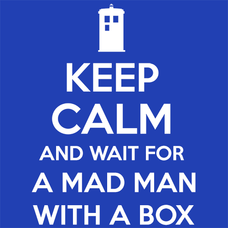 Keep Calm and Wait For A Mad Man T-Shirts - Textual Tees