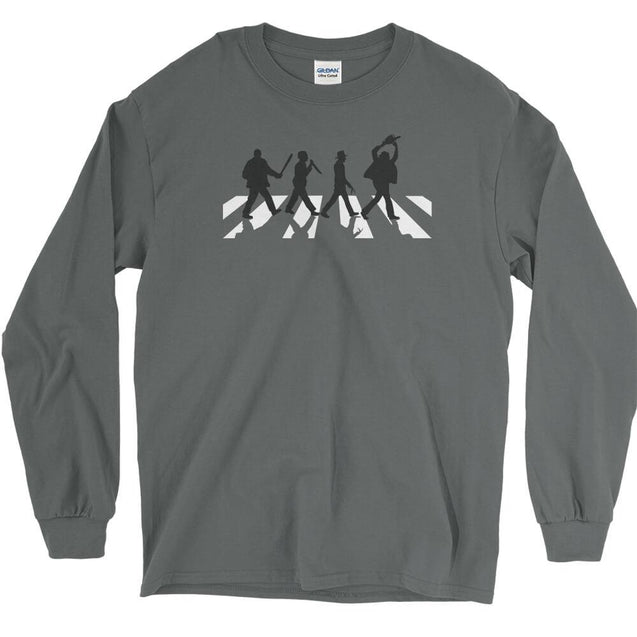 Killers Abbey Road Long Sleeve T-Shirt Longsleeve T-Shirt - Textual Tees