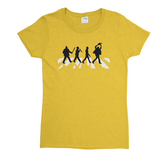Killers Abbey Road Womens T-Shirt Womens T-Shirt - Textual Tees