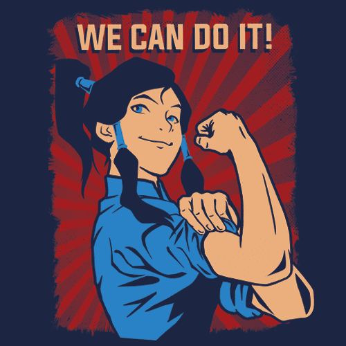 Korra the Riveter T-Shirts - Textual Tees