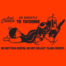 Last Chance For Han Solo T-Shirts - Textual Tees