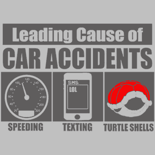 Leading Cause Of Accidents T-Shirts - Textual Tees