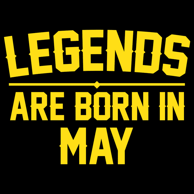 749f2ed20 Legends Are Born In May T-Shirts - Textual Tees