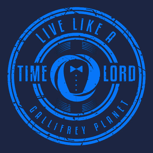 like a time lord t-shirt textual tees