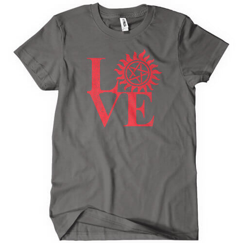 Love Hunting Supernatural T-Shirt T-Shirts - Textual Tees