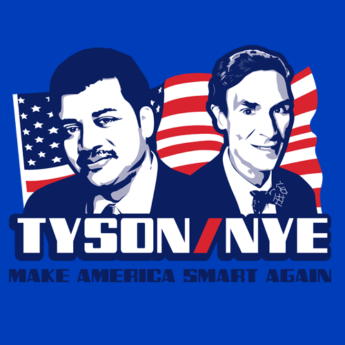 Tyson Nye 2016 2020 T-Shirt Political Apparel